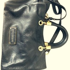 Marc Jacobs brown leather satchel